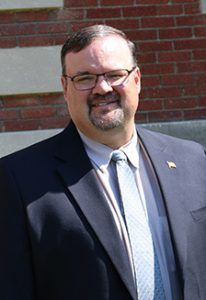 Health Commissioner Chad Brown