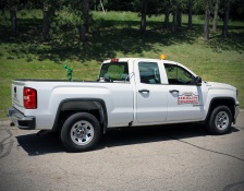 Mosquito control truck image