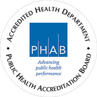 Public Health Department Accredited