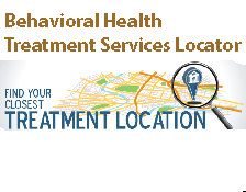 Behavioral Health Treatment Services Locator image